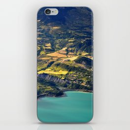 Painted Shore iPhone Skin