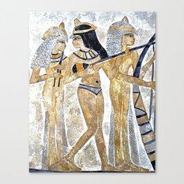Egyptian Musicians Canvas Print