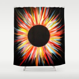 Soul Eclipsed Shower Curtain