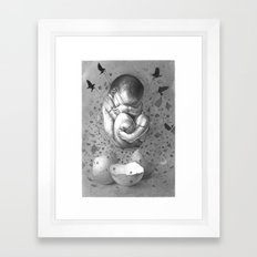 FRAGILE 1# Framed Art Print