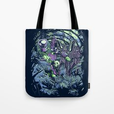 Welcome to the jungle (neon alternate) Tote Bag