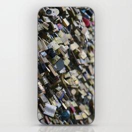 Unlock my (he)art iPhone Skin