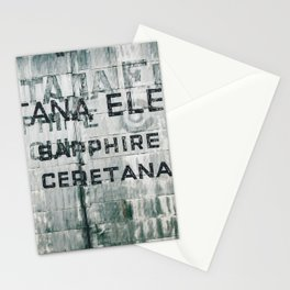 Ghosts of Montana Stationery Cards