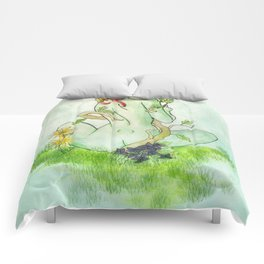 Poison Ivy Comforters