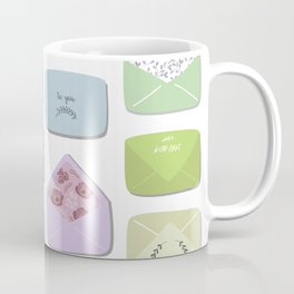 Love Letters Coffee Mug