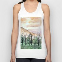 water color Tank Tops featuring Water Color by Anna Hanse