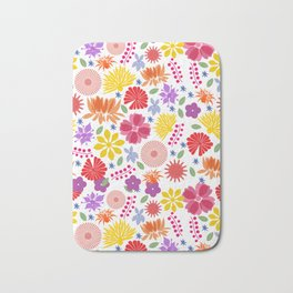 Bunches of Blossoms Bath Mat