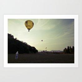 [montgolfier] Art Print