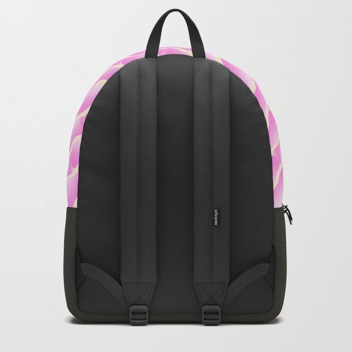 Geometric Vibes: Love Backpack