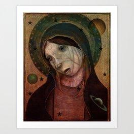 Celestial Sister Art Print