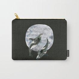 orcas' moon dance Carry-All Pouch