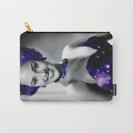 Dorothy Dandridge Purple Galaxy Carry-All Pouch