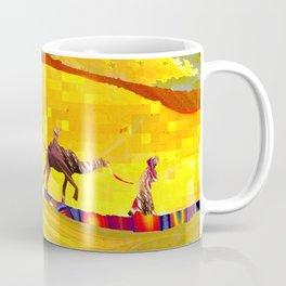 over the never ever ending sand Coffee Mug