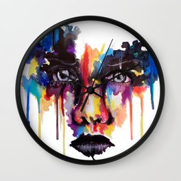 Splash of emotion Wall Clock