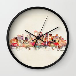 new orleans louisiana Wall Clock