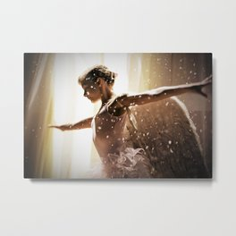 Angel Ballerina Metal Print