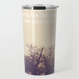 An early morning walk is a blessing for the whole day Travel Mug