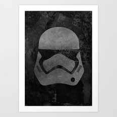 Captain Phasma Art Print