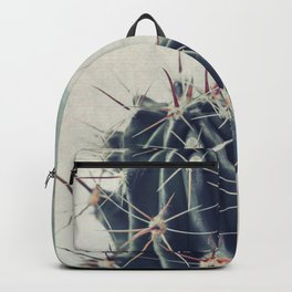 Cactus with textured background Backpack
