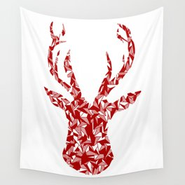 Cluster Shape Stag Head Wall Tapestry