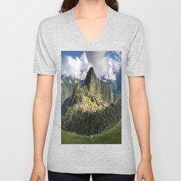 Machu Picchu, Peru Unisex V-Neck