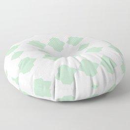 Minty_Geo_Love_ Floor Pillow