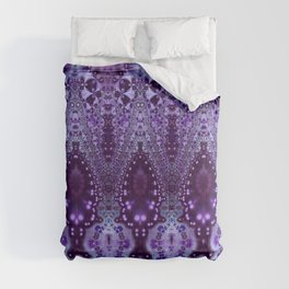 Purple Cathedral Comforters