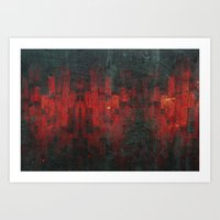 discount Art Prints featuring Ruddy by Aaron Carberry