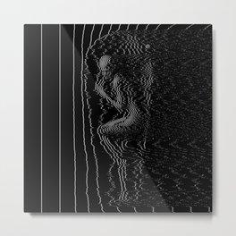glitch pic Metal Print