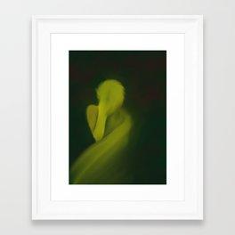 It Sticks Framed Art Print