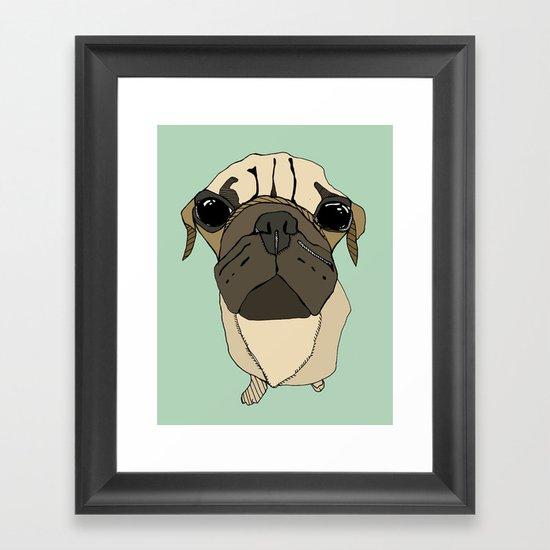 Puglet Framed Art Print