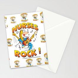 Nurses Rock Pattern Stationery Cards