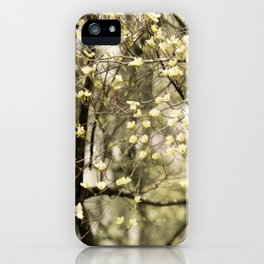 Let's Get Lost In The Dogwoods iPhone Case
