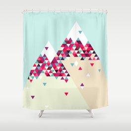 Twin Peaks Shower Curtain