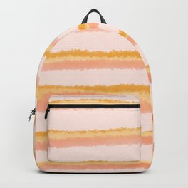 Stripped creamsicle Backpack