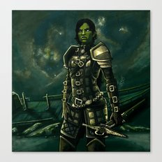 Skyrim - Shro-gan vampire hunter Canvas Print