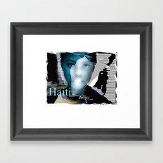 Haiti Portraits / 06 / Series / 6 Framed Art Print