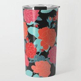 Rose Garden - Dark Travel Mug