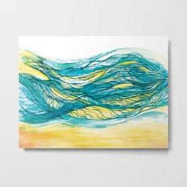 The sea 6 Metal Print