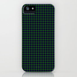 Sutherland Tartan iPhone Case