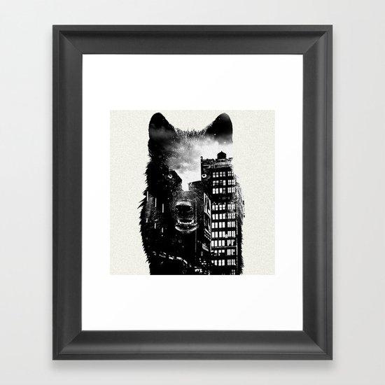 Wolf II Framed Art Print