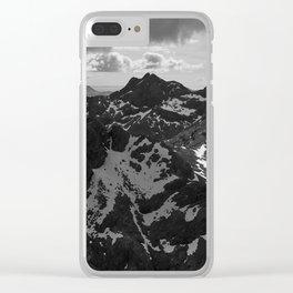 The Cuillin Ridge I Clear iPhone Case