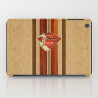 surfboard iPad Cases featuring Waimea Hawaiian Surfboard Design by Drive Industries