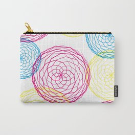 Spiro Blooms Carry-All Pouch