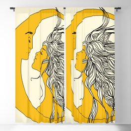 Sun and Moon Blackout Curtain