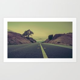 Transition. Art Print