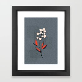 Kalemba Flower II Framed Art Print