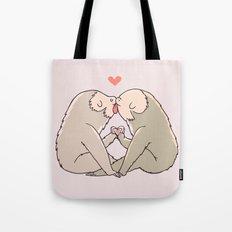 Sloth Kisses Tote Bag
