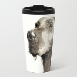 Dogportrait Weimaraner Travel Mug