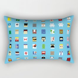 Minimalism beloved Videogame Characters Rectangular Pillow